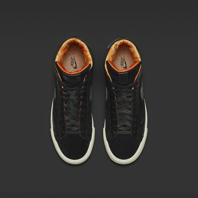 Mo'Wax x Nike Blazer SP Black