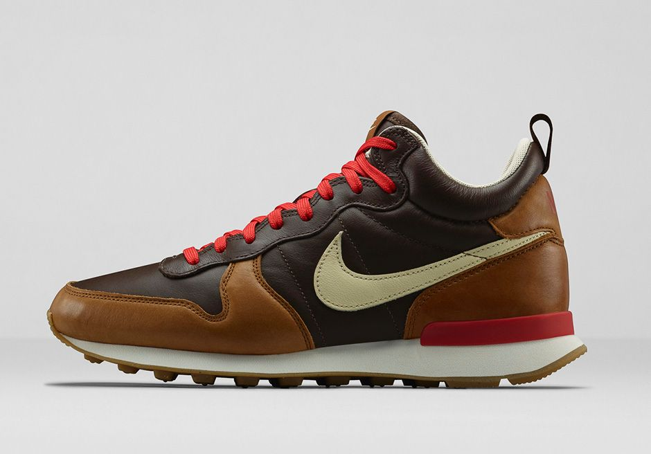 nike internationalist marron