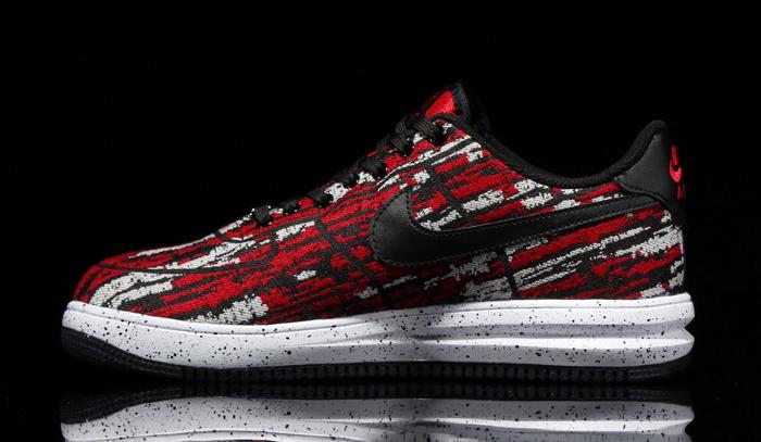 1 Gym Jacquard Lunar Red Nike Force 2IEH9D