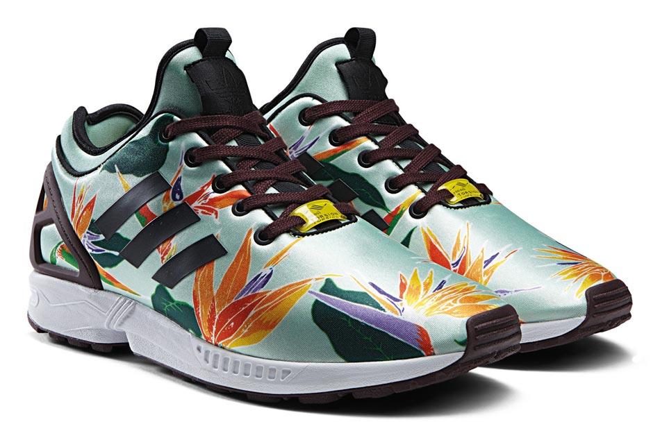 adidas zx flux homme multicolor