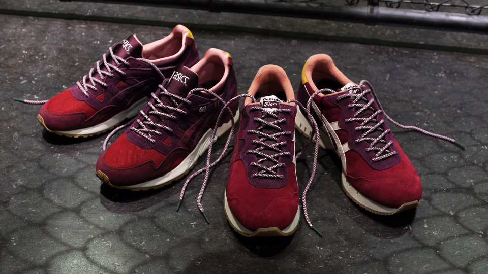 mita sneakers x Asics x Onitsuka Tiger Dried Rose Pack - Le Site de la  Sneaker