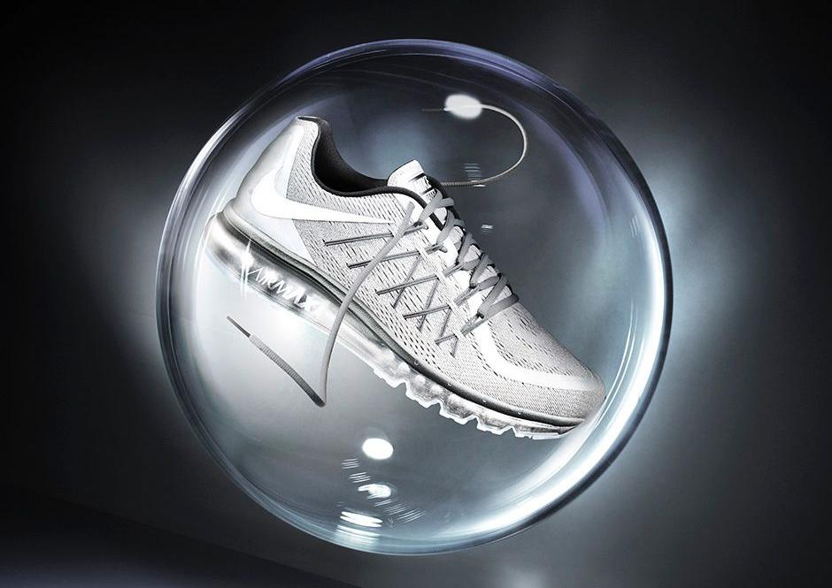 Reflective Silver Nike Air Max 2015 Premium Schuhe Herren