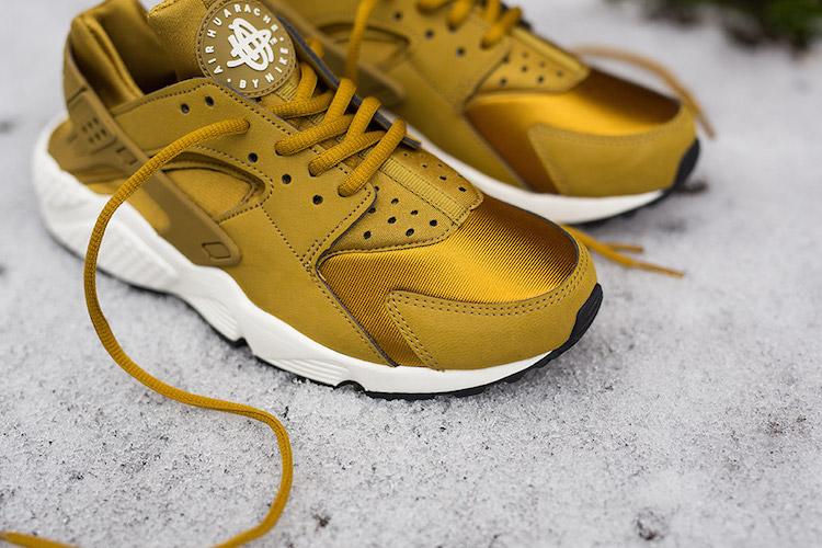 Nike Air Huarache Bronze Doré