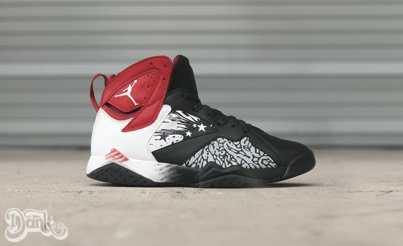 9335ac205 Air Jordan 4 Black Cement Custom - Le Site de la Sneaker