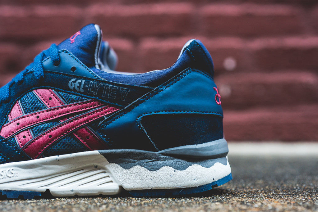 asics gel lyte 5 bleu et rouge. Black Bedroom Furniture Sets. Home Design Ideas
