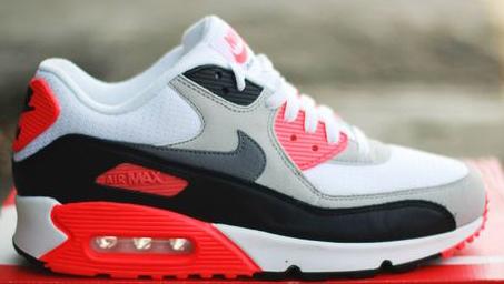 La Nike Air Max 90 Infrared de retour en 2015 Le Site de