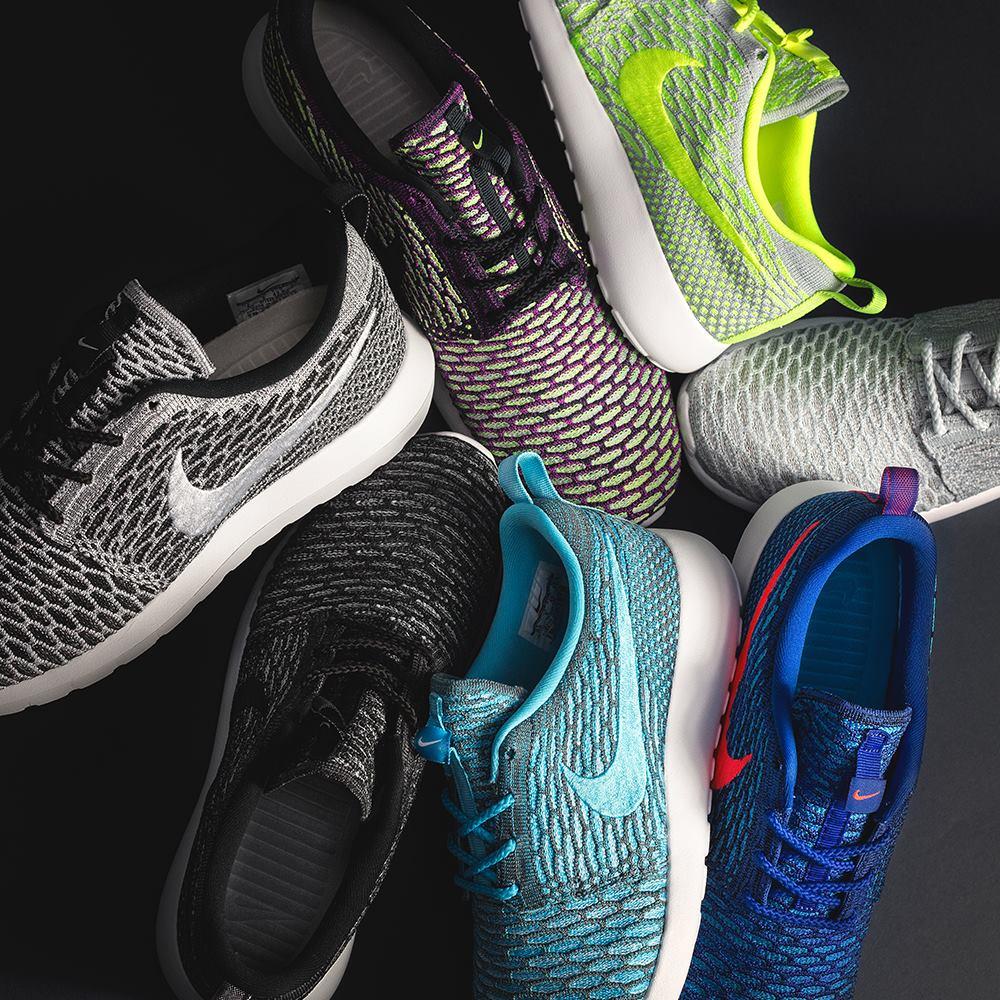 reputable site 804b9 8032b 13 Nike Roshe Run Flyknit à venir en février