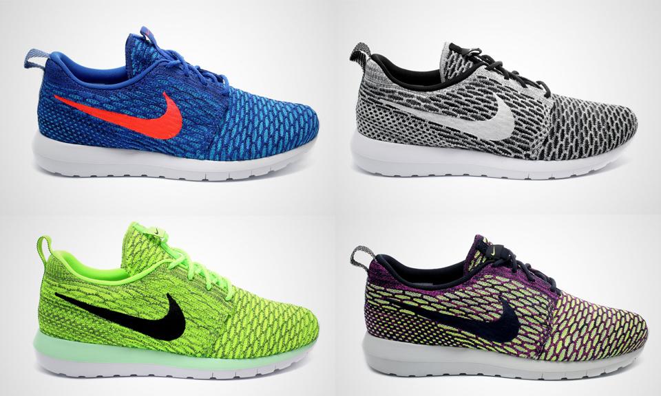 bas prix 0bc84 308aa Nike Flyknit Roshe Run - coloris Printemps 2015 - Le Site de ...