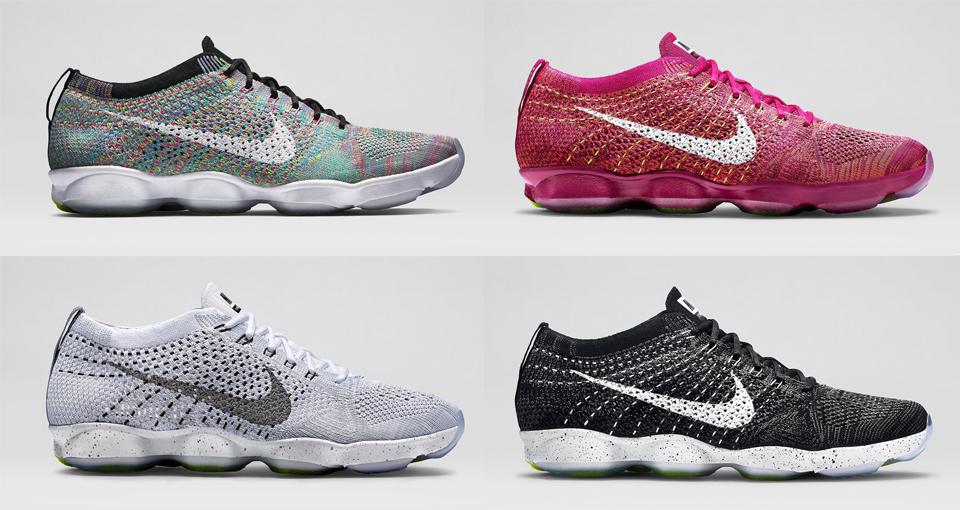 prix compétitif 6af14 84248 Nike Flyknit Zoom Agility Collection - Le Site de la Sneaker