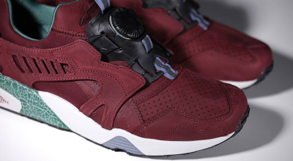 puma trinomic disc bordeaux