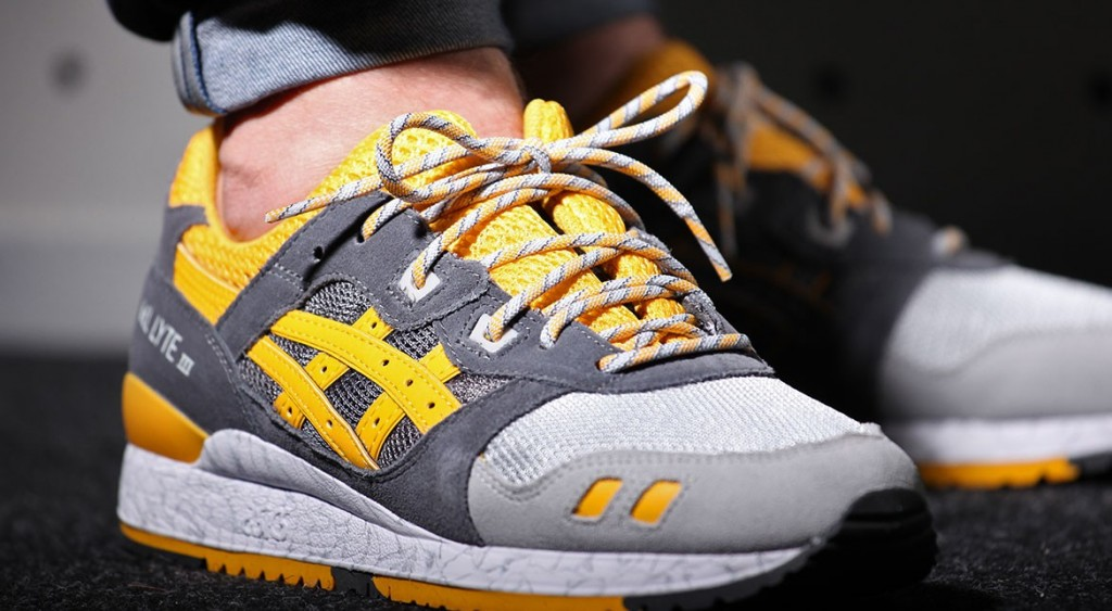 buy popular 1b462 0cd8d Asics Gel Lyte III Gold Fusion 'High Voltage Pack'