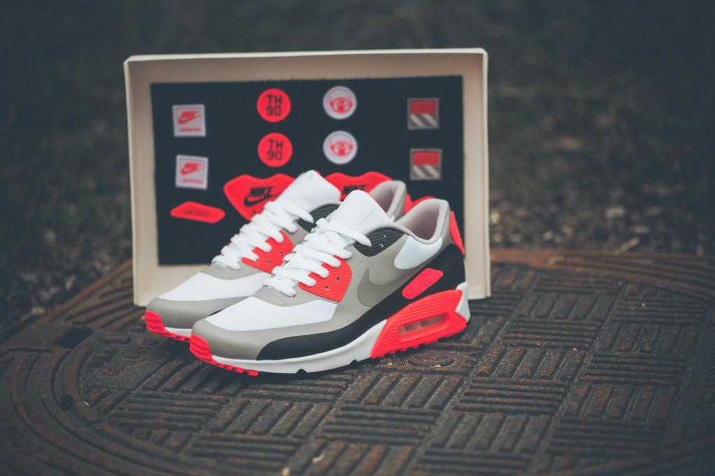 Nike Air Max 90 OG Infrared Patch Le Site de la Sneaker