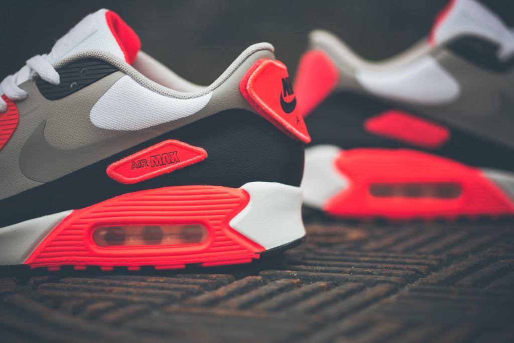 90 Nike Max La De Patch Air Sneaker Site Le Og Infrared rww4ZEzWqF