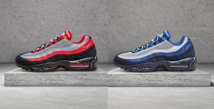 wholesale dealer 30f71 489eb Nike Air Max 95 Liverpool & Everton - JD Sports Exclusive ...