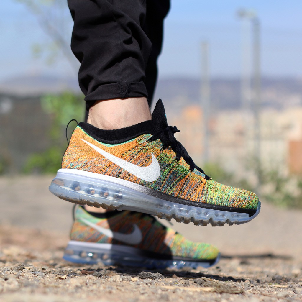 nike flyknit air max femme multicolor