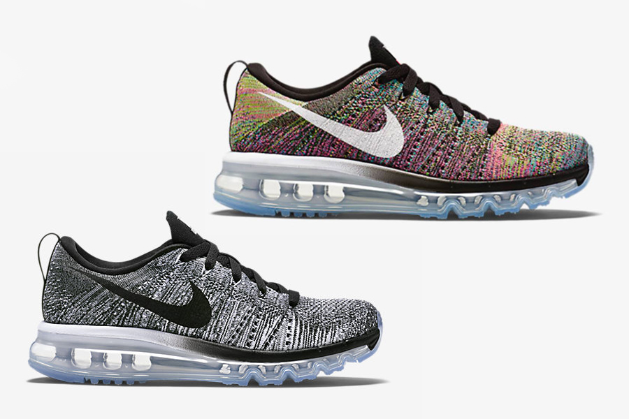 nike flyknit air max multicolor femme