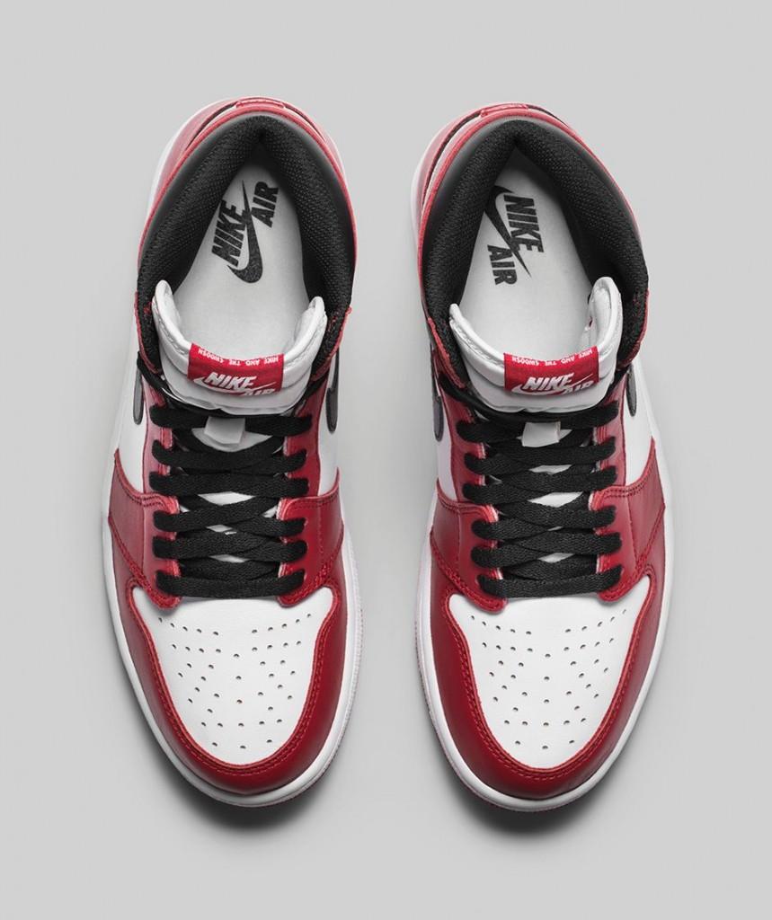 Air Jordan 1 Retro High OG Chicago 2015 - Le Site de la Sneaker e2eb7bc60