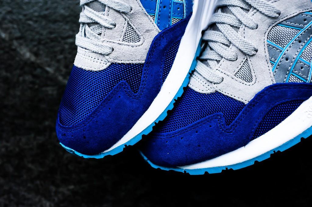 Asics Gel De Lyte V Zapatos - / Gris Claro Azul Oscuro Ggc8r