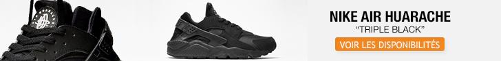 Nike Air Huarache Triple Black