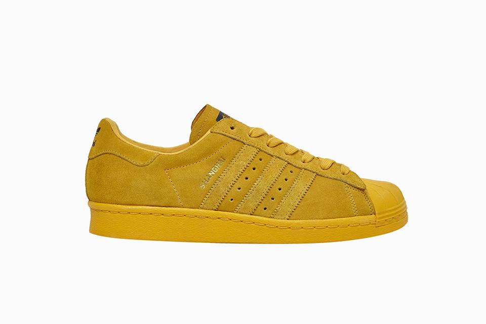 adidas superstar jaune daim