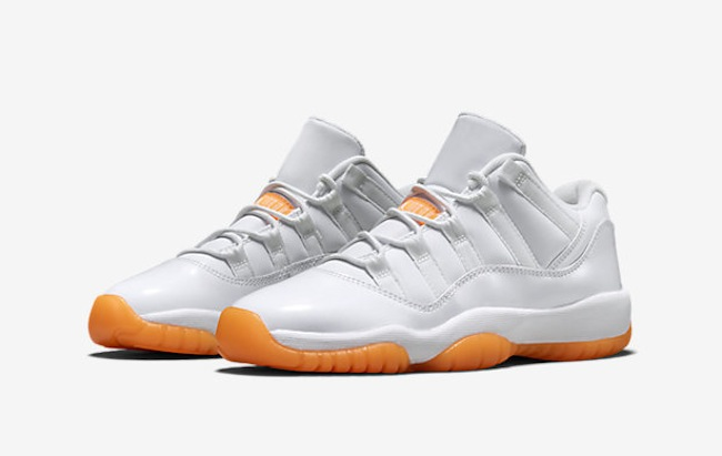 ca516d23ca721b Air Jordan 11 Low GS Citrus - Le Site de la Sneaker