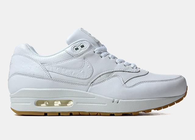 check-out 37430 9322d Nike Air Max 1 'White Ostrich'