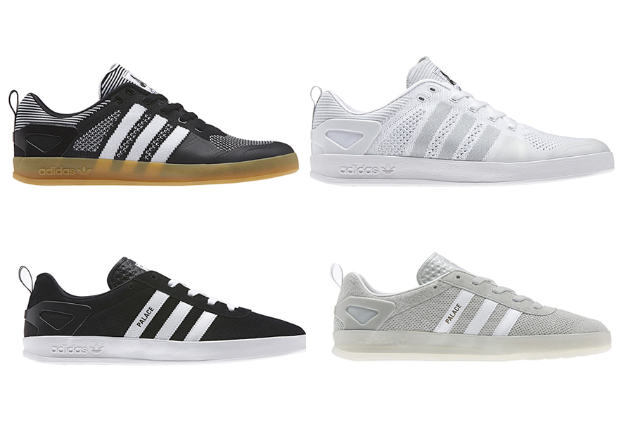 Palace x adidas Originals Pro Primeknit & Trainer Collection