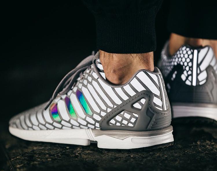 adidas zx flux xeno silver