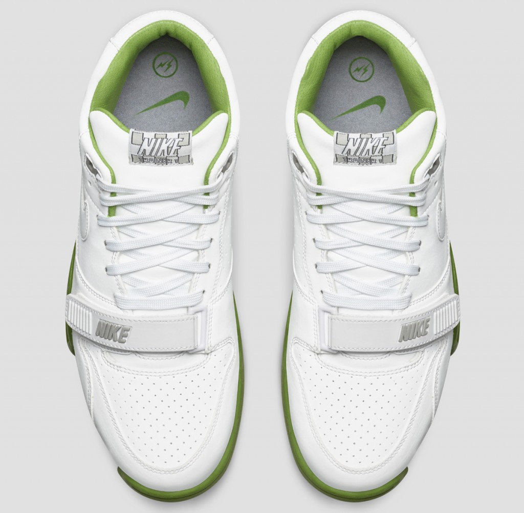 the latest c634d 4f12f fragment-nike-air-trainer-1-wimbledon-white-2