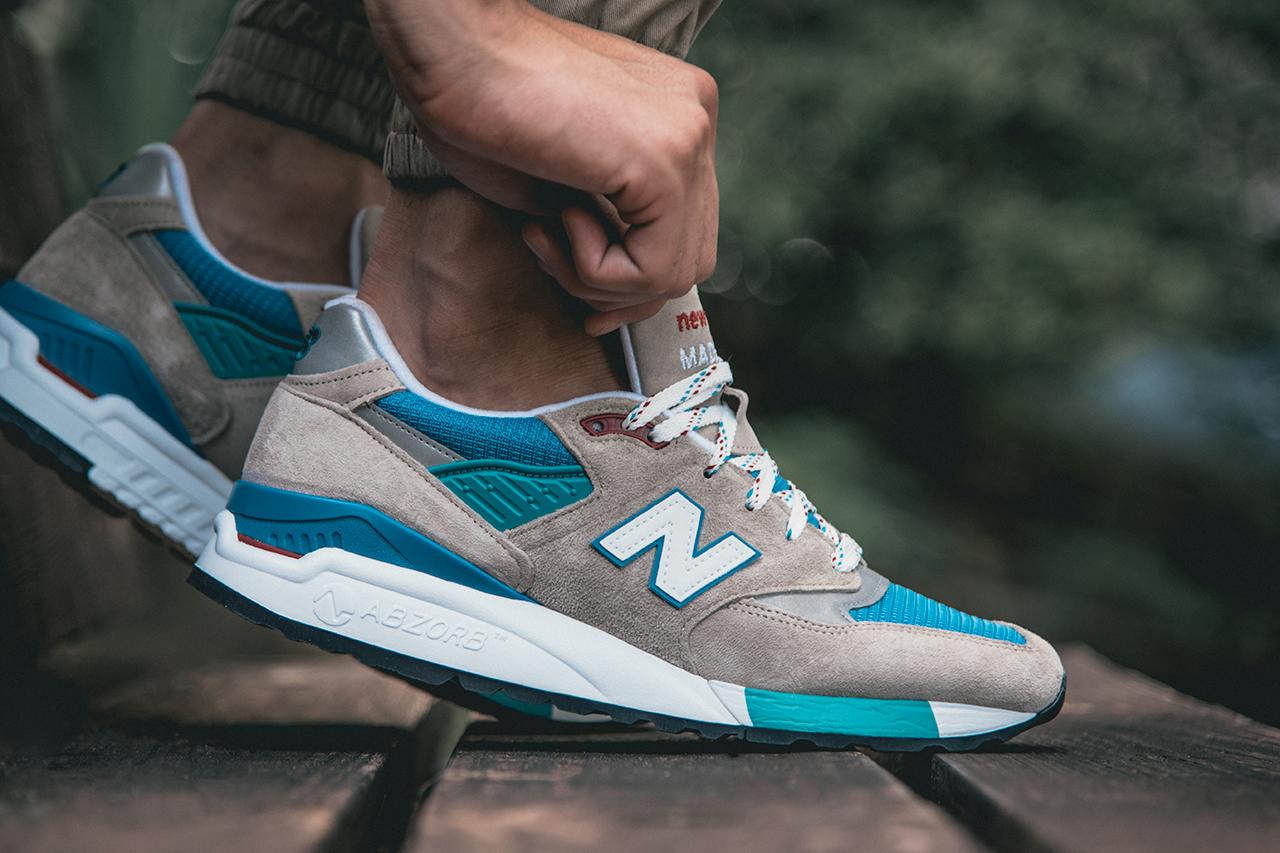 New Balance 998 Noir