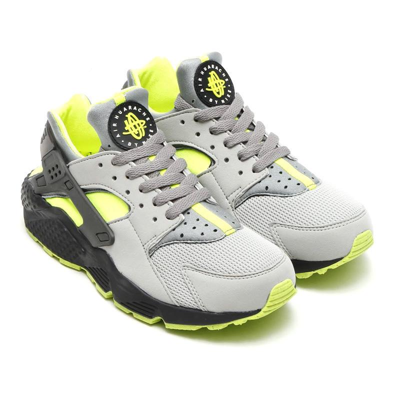 Nike Huarache Vert Jaune
