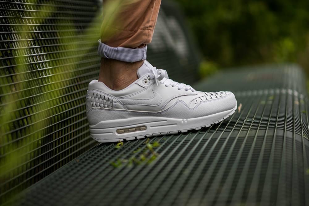 promo code 05a40 6f1c8 1 Le la White Air Site Nike Woven Sneaker Max de qEaR4
