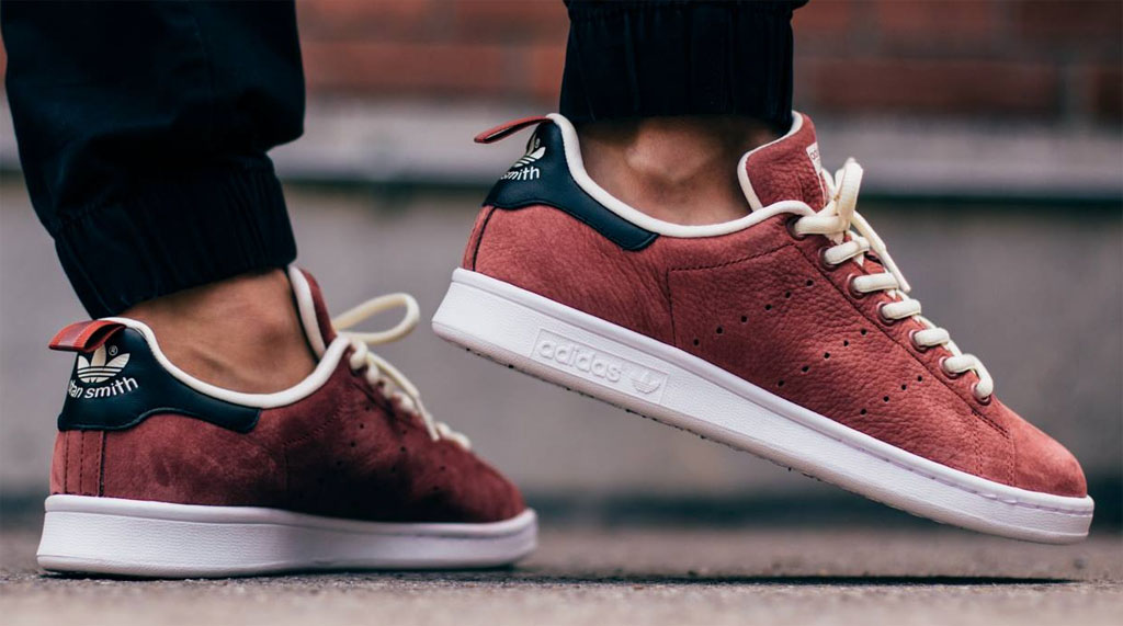 vente chaude en ligne f1e01 d4472 adidas Stan Smith 'Rust Red'