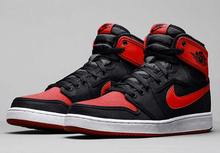 air jordan one rouge et noir
