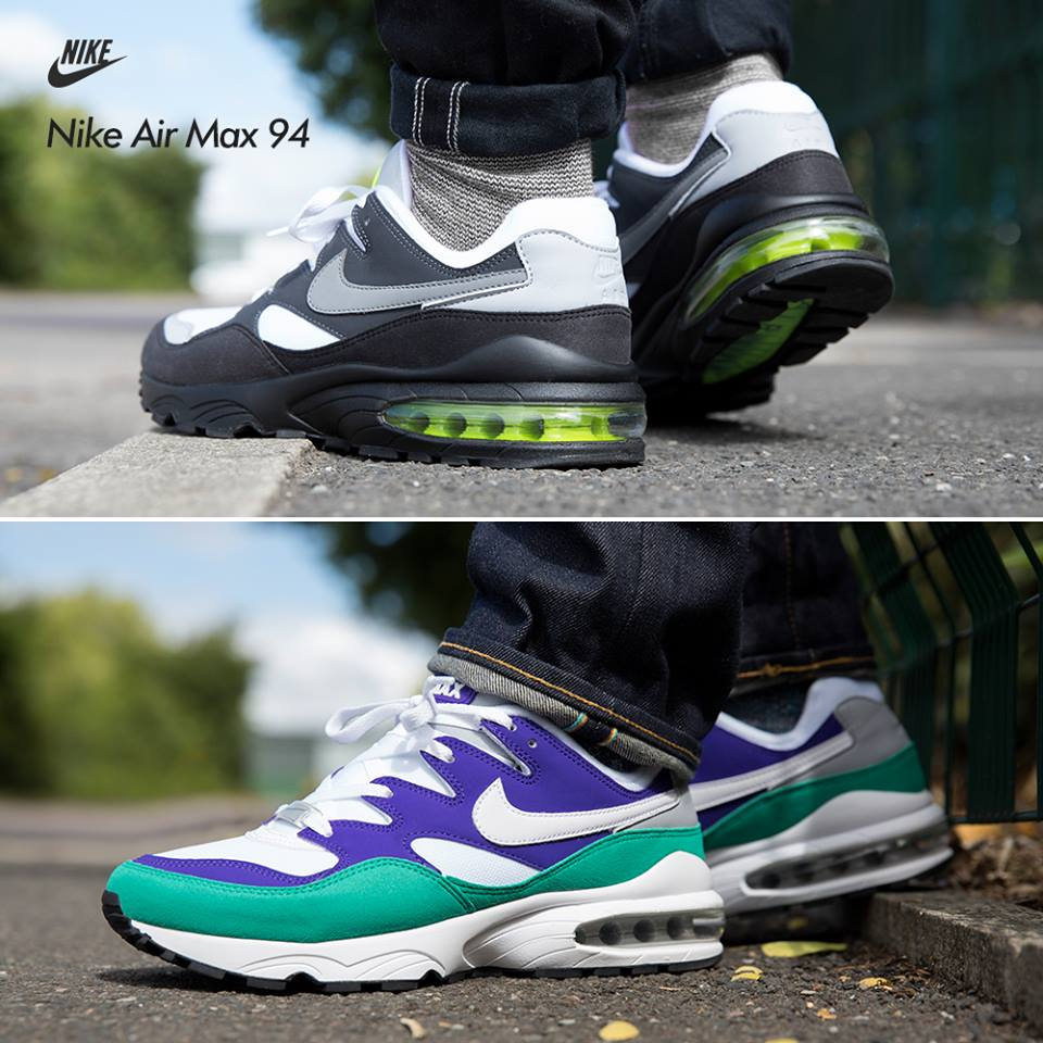 la meilleure attitude c919c 96fc3 Nike Air Max 94 Volt & Emerald - Le Site de la Sneaker