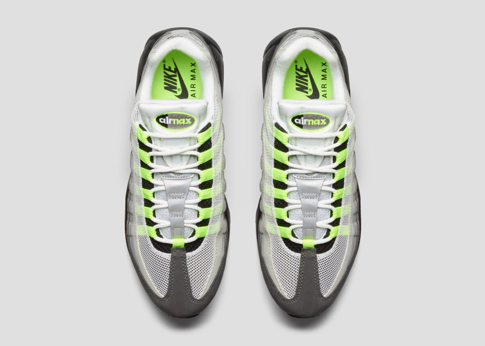 new style 73cf8 64475 nike air max 95 id neon alternate