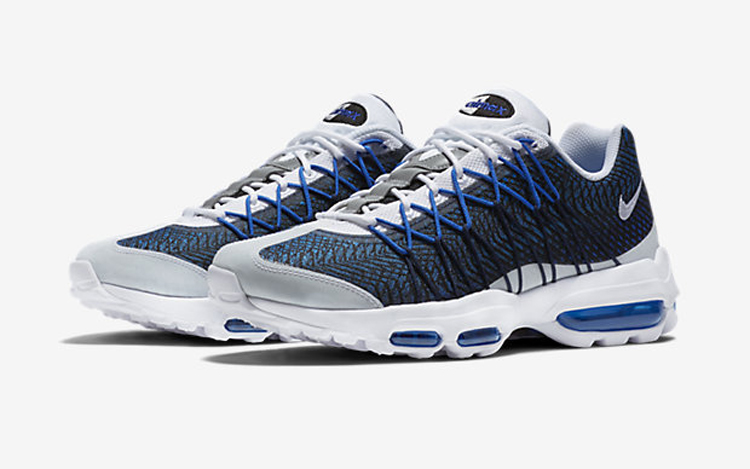 finest selection 51e26 a6978 Nike Air Max 95 Ultra Jacquard 'Midnight Navy'