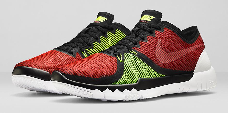 Nike Free Trainer 3.0 V4 'Black Red'