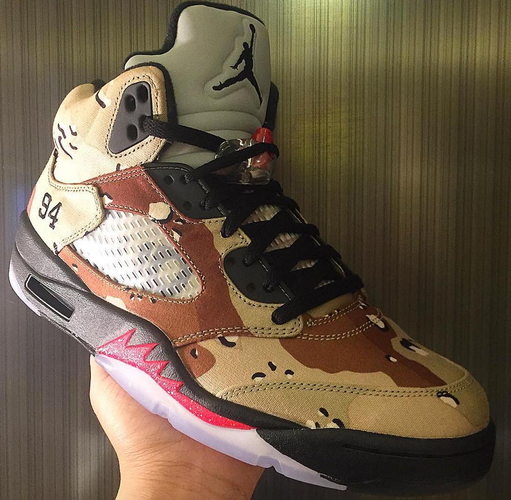 bff852b33b7 Supreme x Air Jordan 5