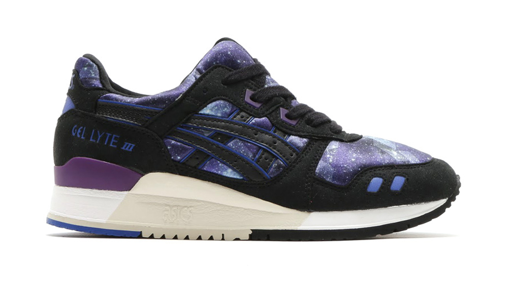 Asics Gel Lyte III Galaxy Pack noire Chaussures Baskets