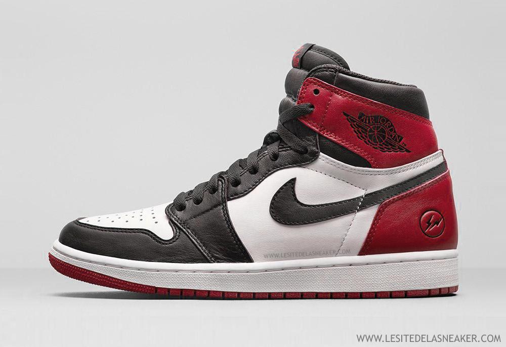 dec09a45138e Une Fragment x Air Jordan 1
