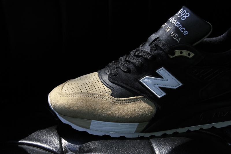 new balance 998 noir et beige