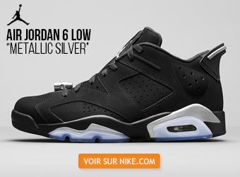 Air Jordan 6 Low Metallic Silver sur Nike.com