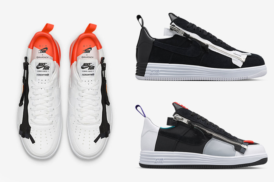 ACRONYM x NikeLab Lunar Force 1 SP Pack