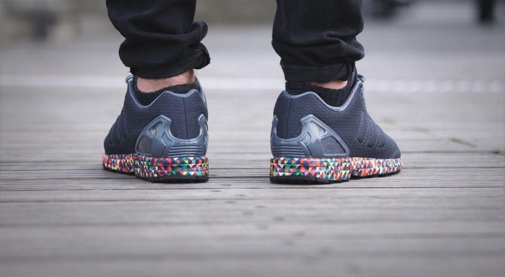 adidas zx flux prism homme