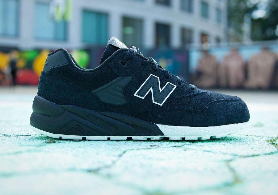 new balance 580 noir et vert