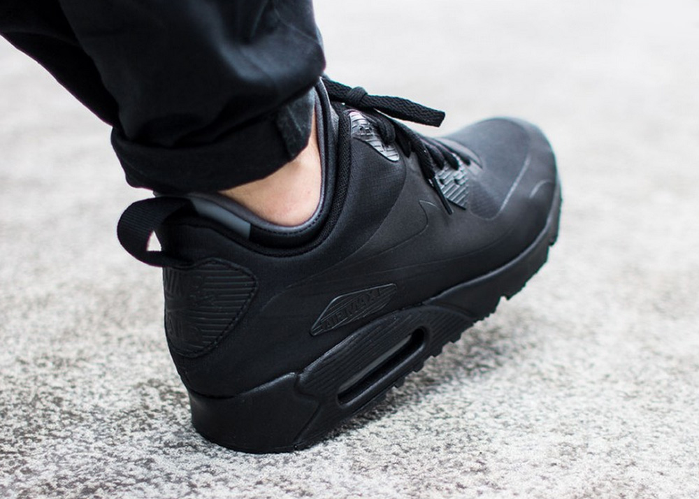 competitive price b2d09 9342a purchase nike air max 90 mid winter trainer black d055c 974d3
