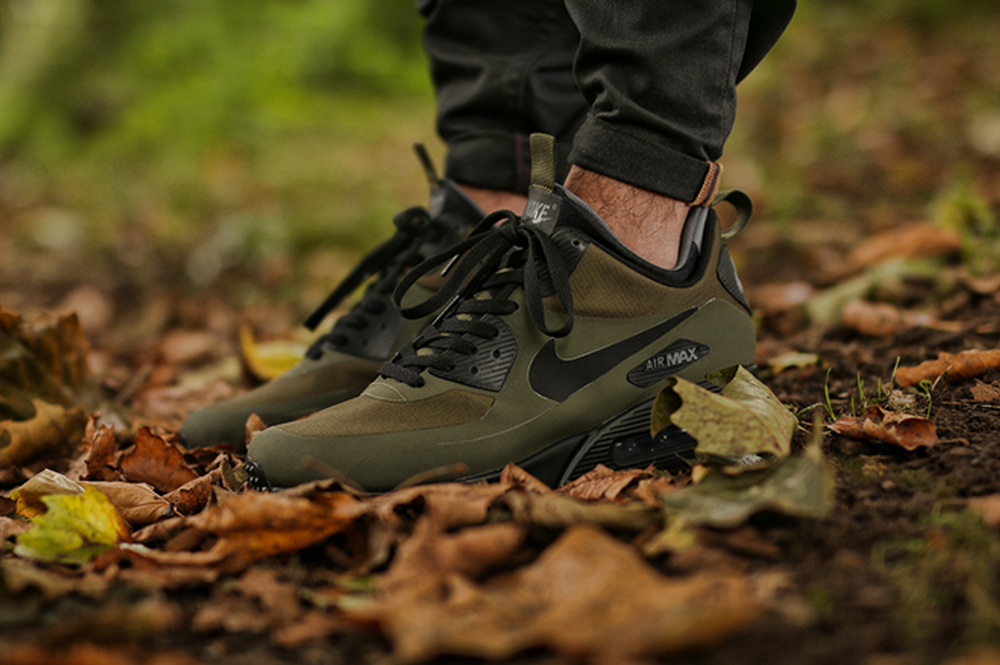 buy popular 00729 a637a Nike Air Max 90 Mid Winter Dark Loden