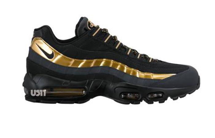 air max 95 noir gold