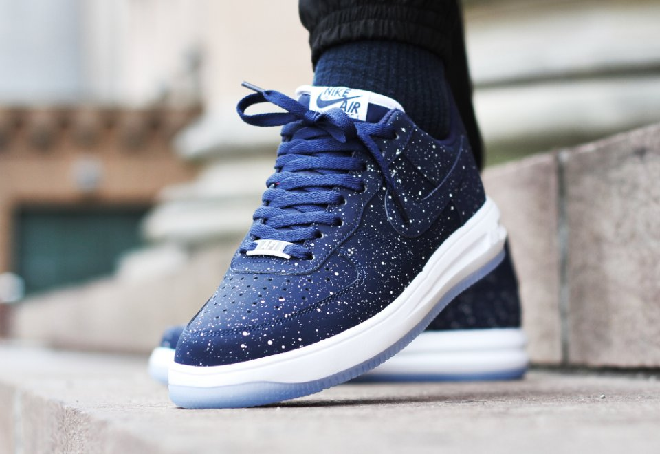 super populaire c2771 0eb43 Nike Lunar Force 1 Low 'Navy Speckle'